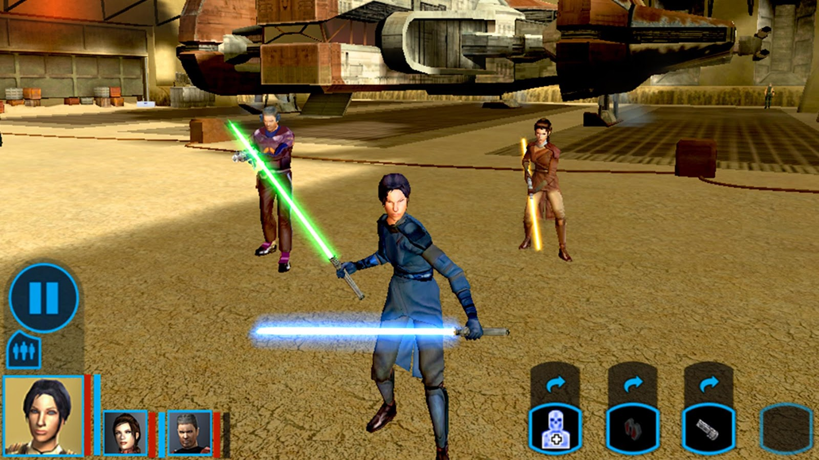knights of the old republic remake star wars