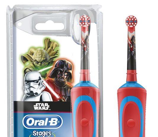 spazzolino elettrico gadget star wars amazon