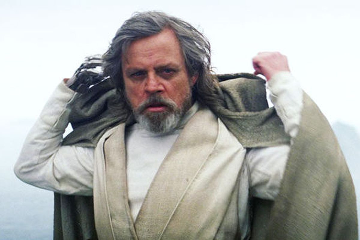 luke skywalker mark hamill star wars episodio vii trailer