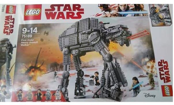 camminatori set LEGO star wars gli ultimi jedi