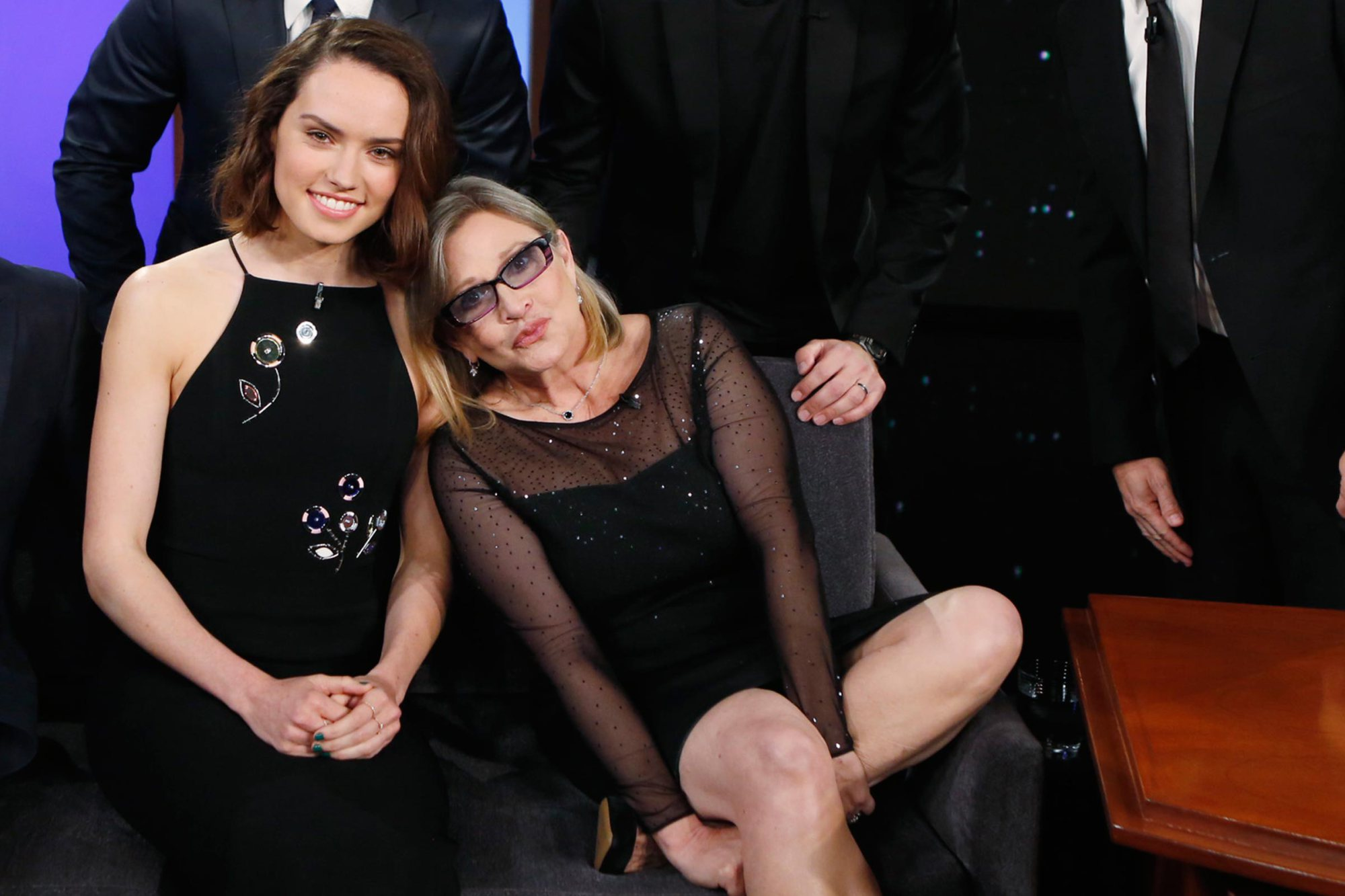 carrie fisher difende un'amica dalle molestie