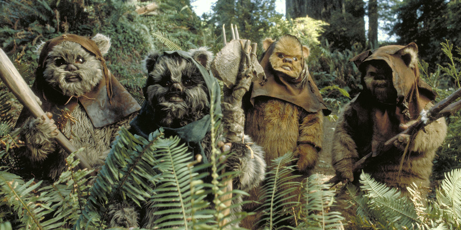 ewok star wars episodio VI