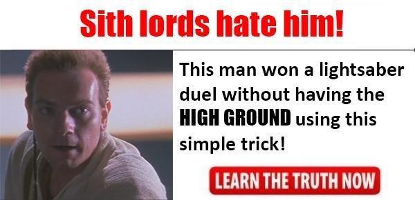 storia dell'high ground meme di obi-wan
