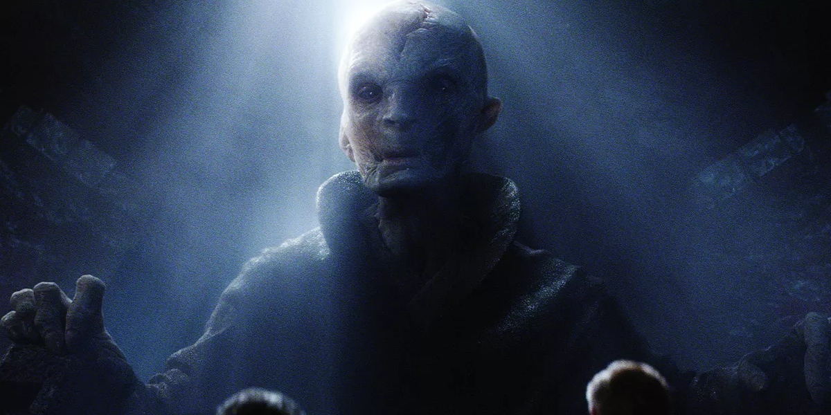 chi è snoke in star wars rivelazione