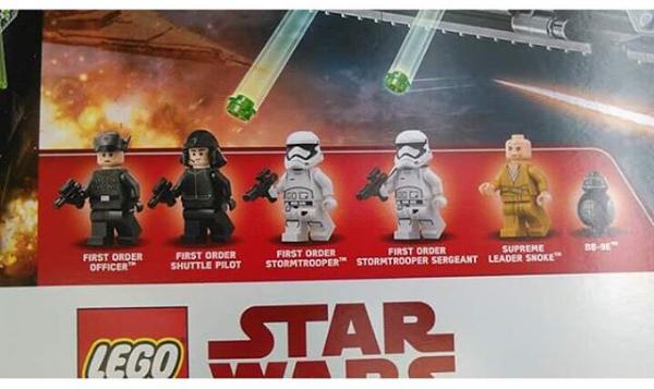 set LEGO star wars gli ultimi jedi