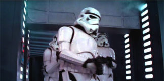 star wars stormtrooper in death star