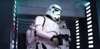 star wars stormtrooper in death star