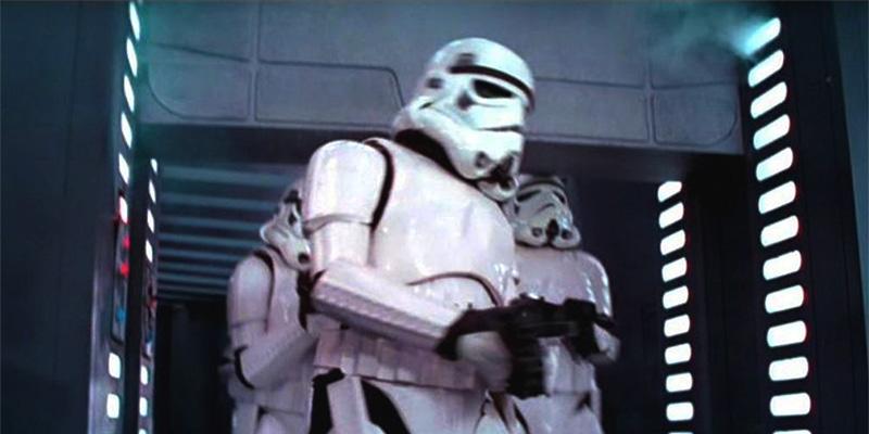 star wars errore stormtrooper in death star