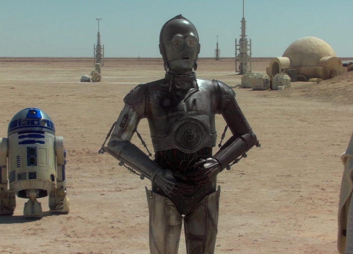 c3po c-3po droide attacco dei cloni