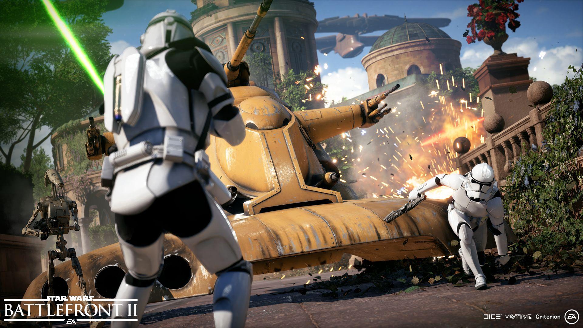 gameplay esercito cloni battlefront ii star wars