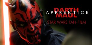 darth maul apprentice fan film star wars youtube corto