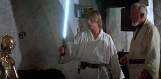 personaggi asta spada laser luke anakin rey