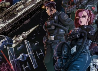 tie fighter film star wars anime giapponese