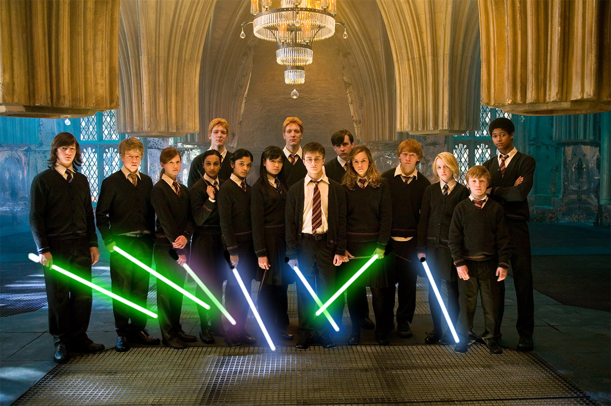 harry potter e star wars similitudini