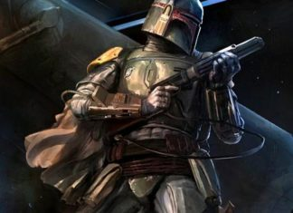 boba fett armatura arte star wars wallpaper