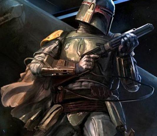 boba fett armatura arte star wars wallpaper