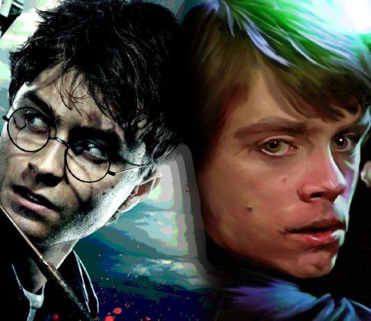 harry potter e star wars simili