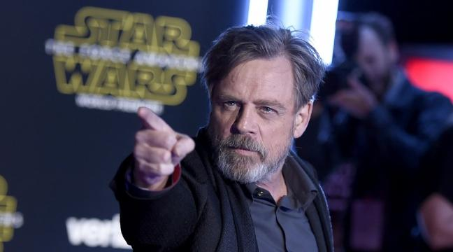 mark hamill nella hollywood walk of fame