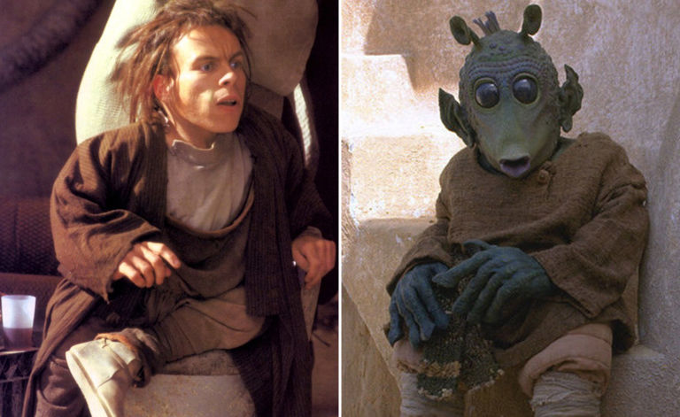 warwick davis in star wars episodio I