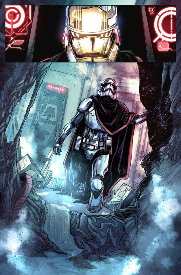 phasma star wars fumetto