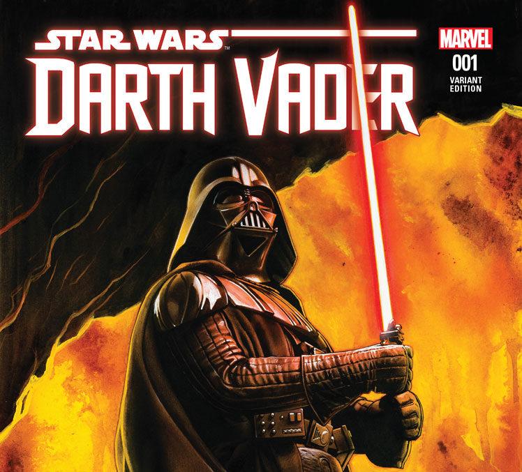 cover darth vader fumetto spiegazione spade laser rosse