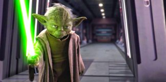 personaggi yoda darth sidious scontro star wars episodio iii
