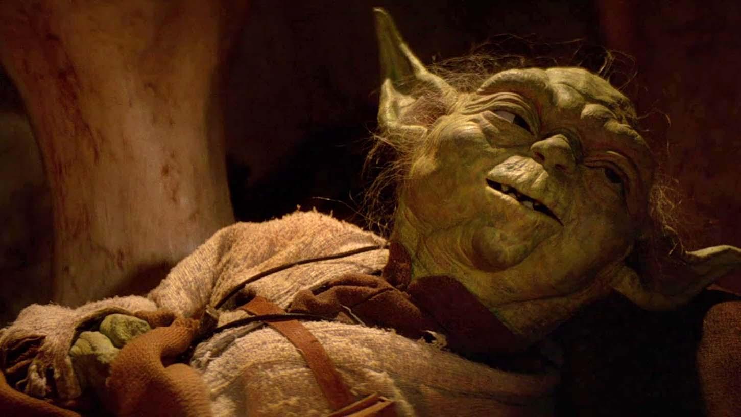 star wars il ritorno dello jedi yoda morente