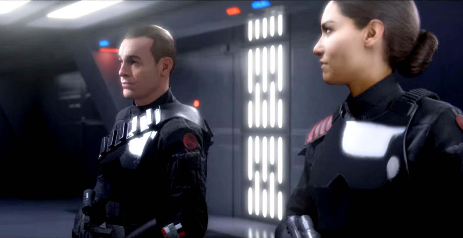 inferno squad cutscene star wars battlefront ii storia singleplayer