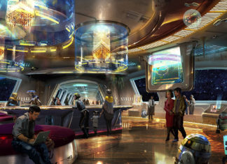 star wars hotel interno disney parco
