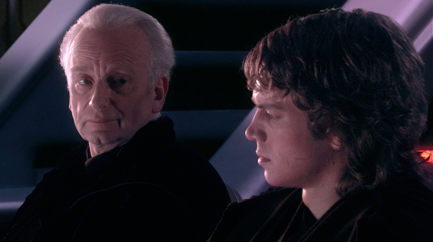 darth plagueis storia anakin darth sidious palpatine
