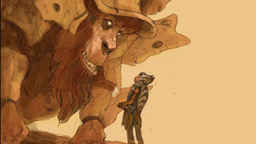 Ahsoka bendu star wars rebels tweet dave filoni