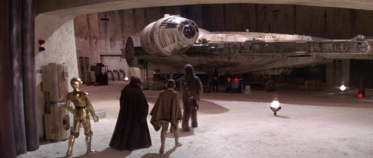 L'aspetto del Millennium Falcon nello Spin-off di Han Solo