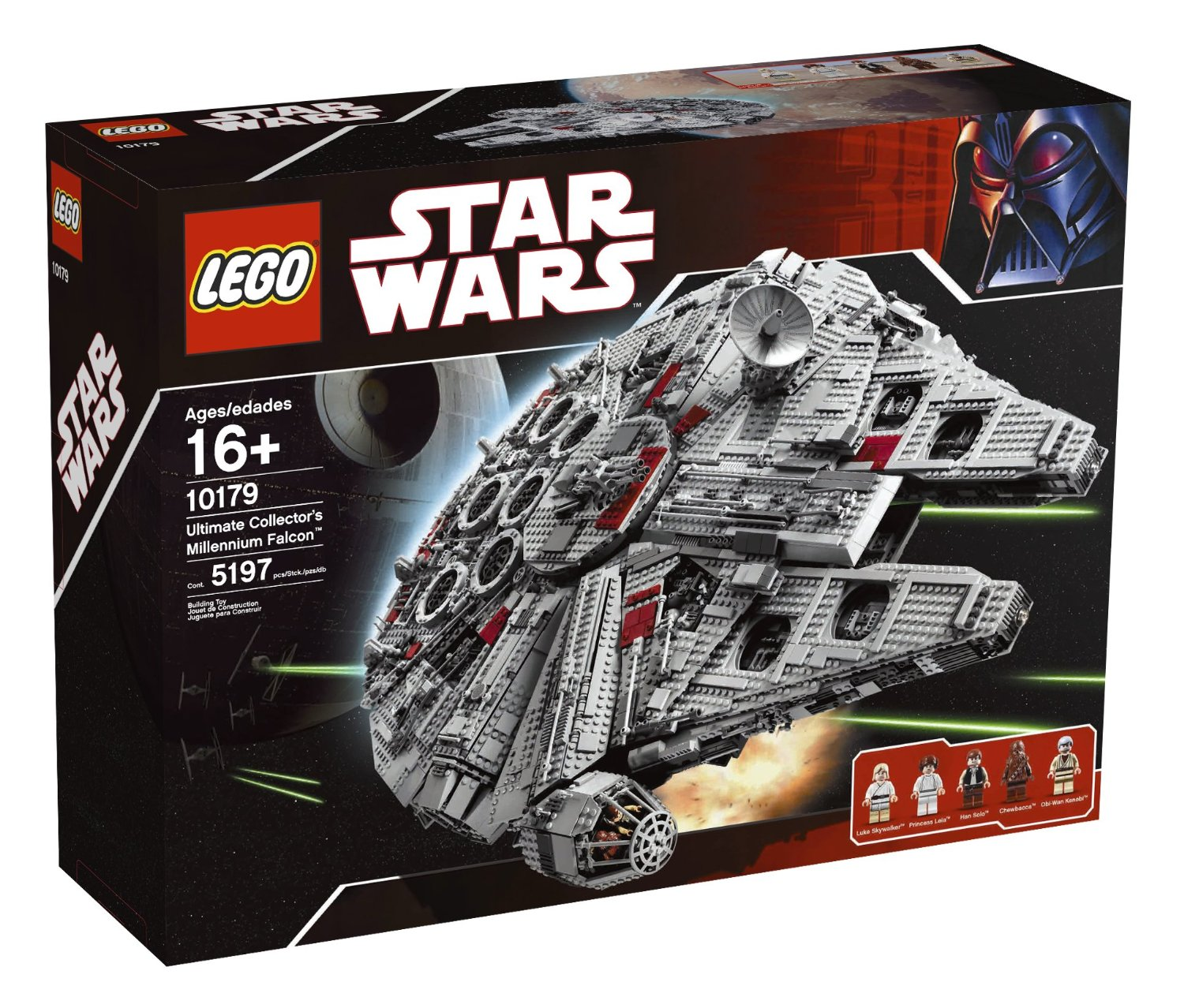 set lego star wars millennium falcon