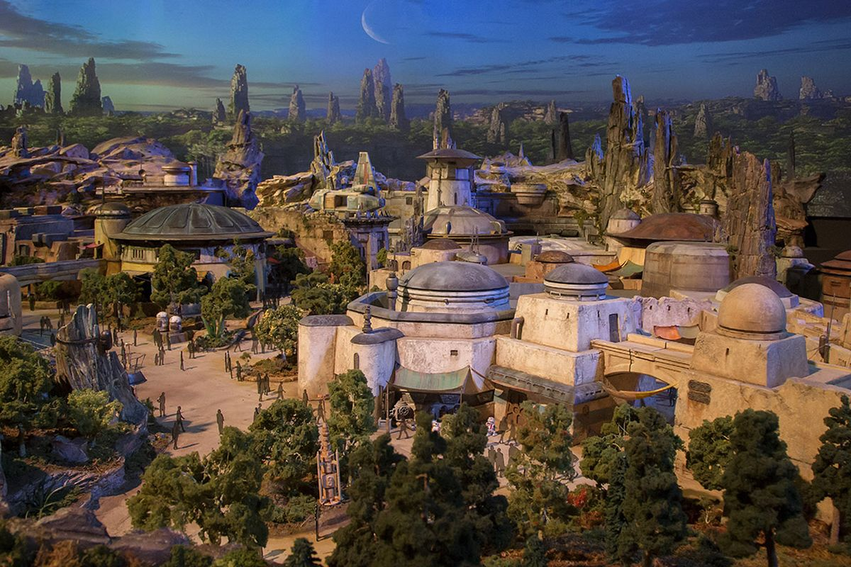 modello star wars land 2019