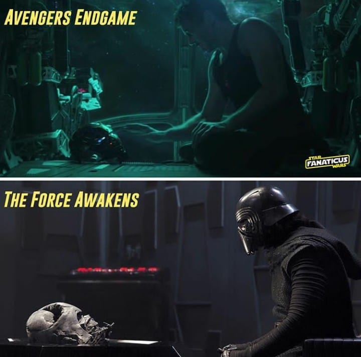 citazioni a star wars nei film marvel