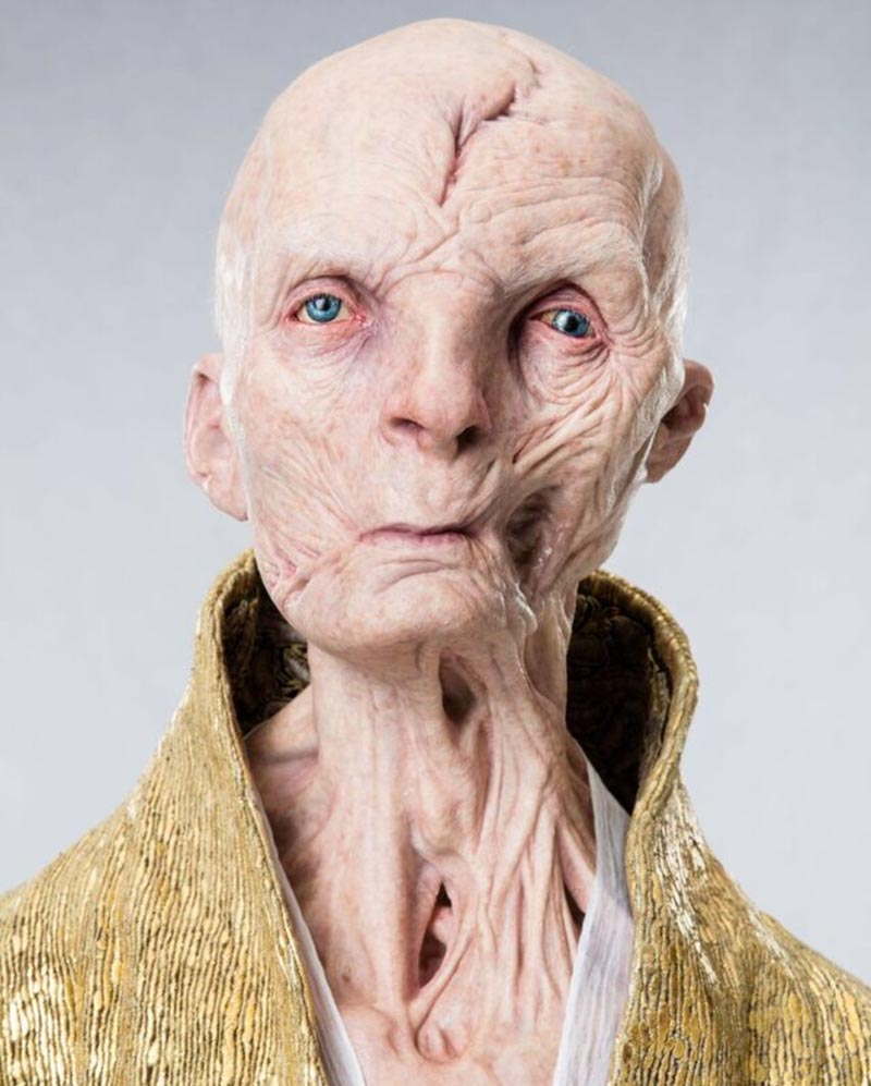 snoke star wars the last jedi immagini leakate