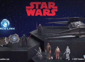 star wars the last jedi frasi film giochi hasbro force link band