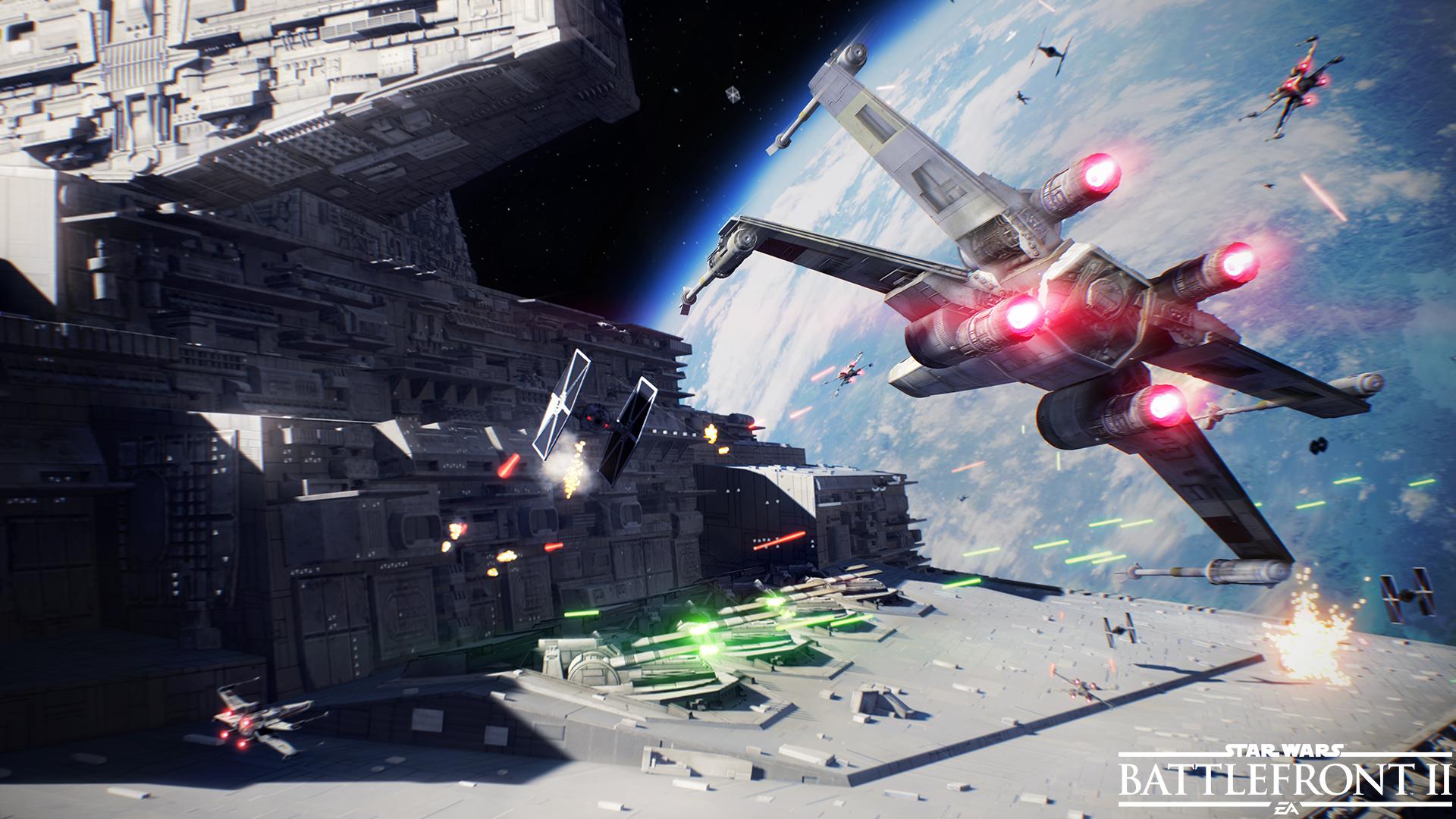 battlefront ii star wars gioco trailer leakato battaglie spaziali