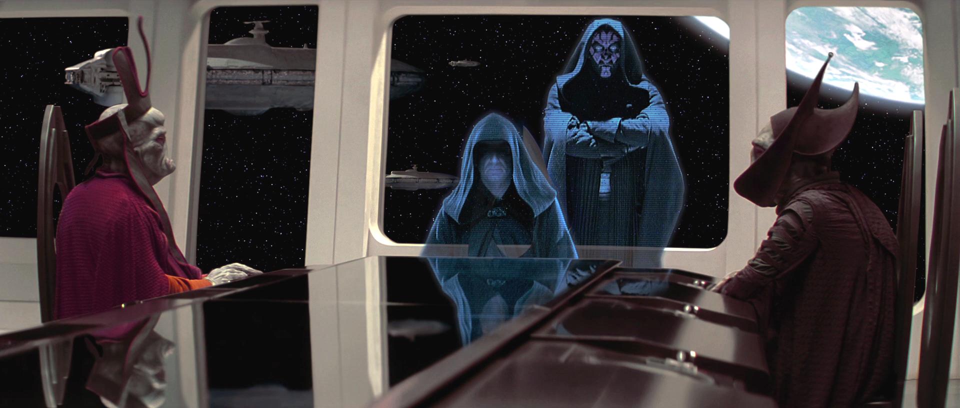 rapporto tra maestro e apprendista sith in star wars