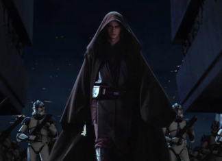 anakin/ darth vader in star wars