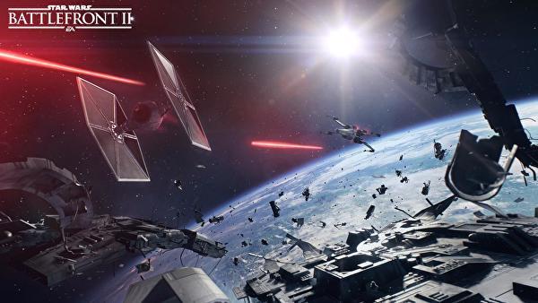 combattimenti aerei di star wars battlefront II