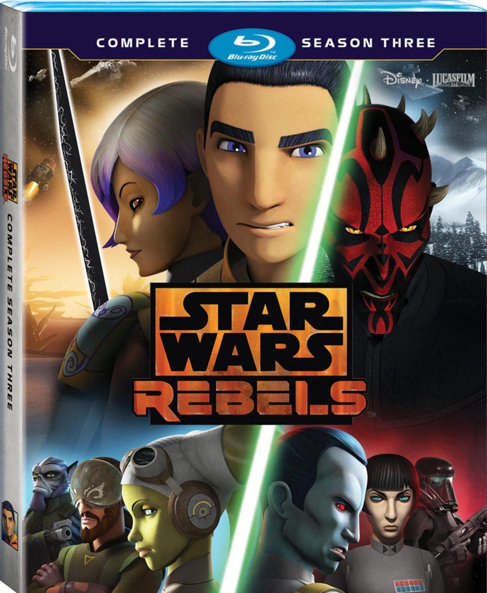 star wars rebels stagione 3 blu-ray home video copertina
