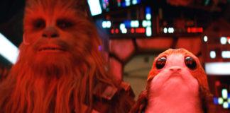 porgs chewbacca millennium falcon star wars the last jedi episodio viii