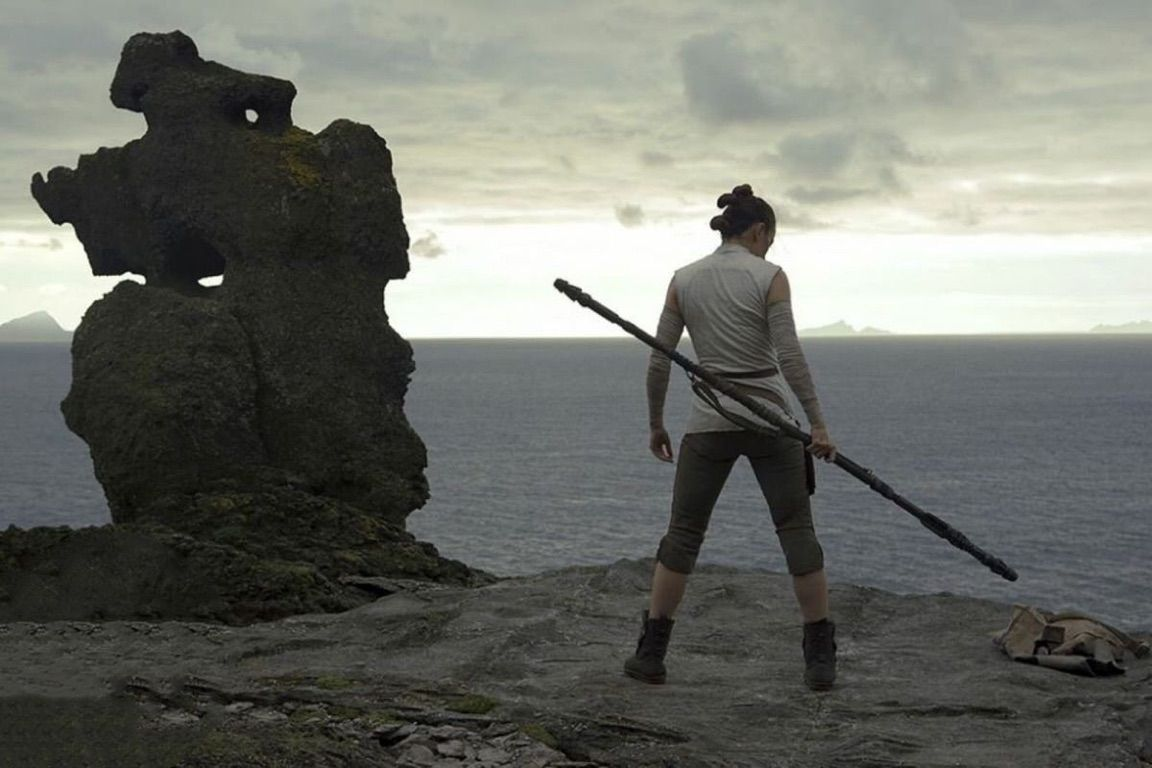 immagine di rey in star wars