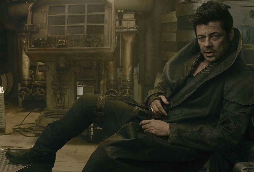 benicio del toro the last jedi star wars episodio viii