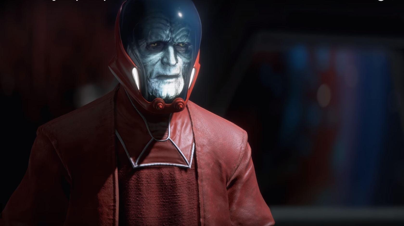 palpatine star wars battlefront ii storia droide sentinella