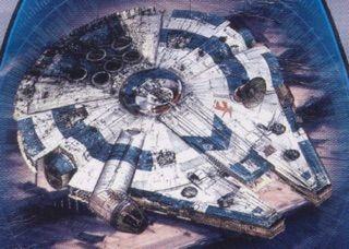 star wars millennium falcon nuovo spin-off han solo aspetto