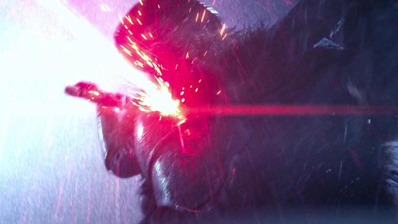 star wars il risveglio della forza scena visione rey kylo ren nuovo ordine jedi
