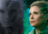 incontro tra snoke e leia in star wars the last jedi