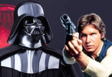 darth vader nello spin-off di star wars su han solo